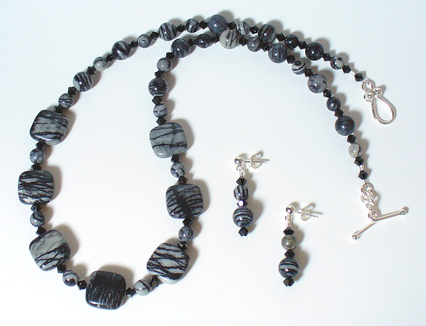 Black_Water_Jasper_Czech_Set