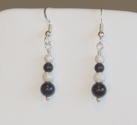 Blue_Goldstone_Earrings