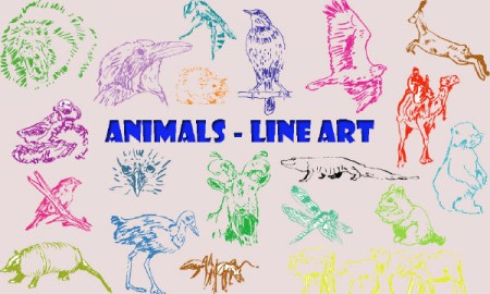 Animals_Line_Art_122