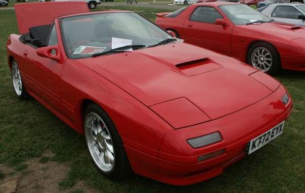Red-Mazda-RX7-Convertible
