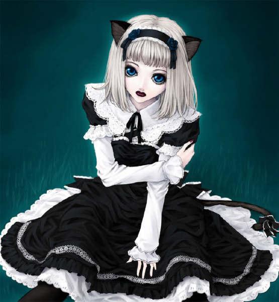 Cat20Girls-Gothic202background