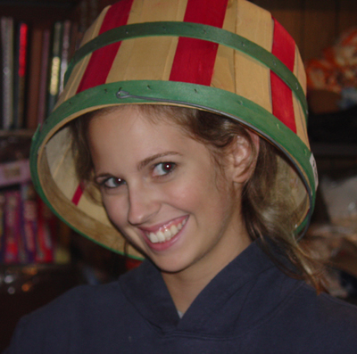 Krista_wearing_a_basket_hat